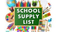 Kindergarten Supply List 2019-2020 Grade 1-3 Supply List 2019-2020 Grade 4-5 School Supply List 2019-2020 Grades 6-7 School Supply list 2019-20